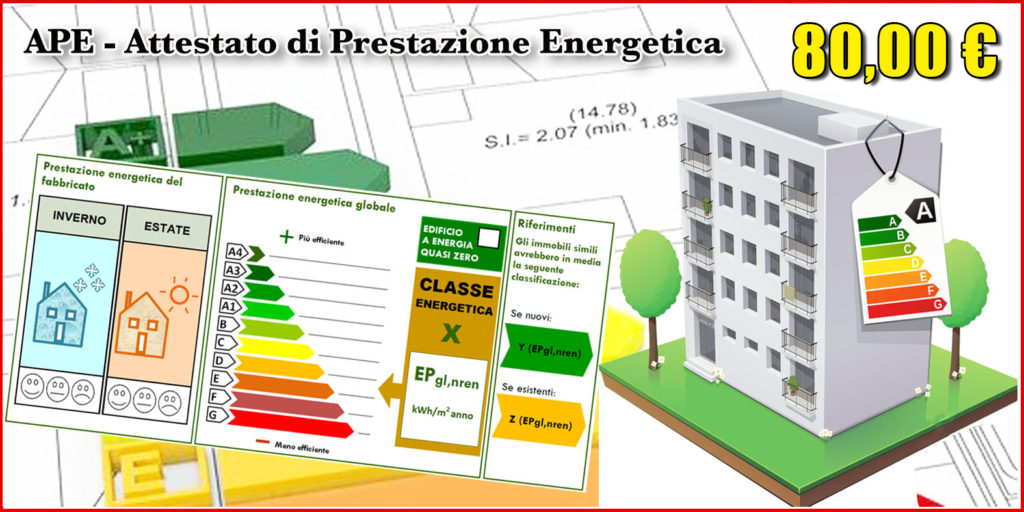 ATTESTATO PRESTAZIONE ENERGETICA PALERMO